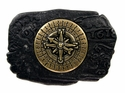 100577 Compass Belt Buckle Made In Italy