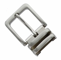 "112D NB Double Loop Clamp Belt Buckle fit's 1-1/8"" (30mm) wide Belt"