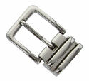 "112D NP Double Loop Clamp Belt Buckle fit's 1-1/8"" (30mm) wide Belt"