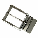A505S NP Twist Reversible Belt Buckle fit's 1-3/8 inch (35mm) Wide Belt