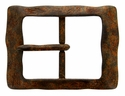 "AC2249 Vintage Rusty Color Finish Belt Buckle  fit's 1-1/2"" (38mm) wide Belt"