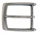 """AE-354 Solid Brass Nickle Plated Belt Buckle Fit's 1 3/8"""" Belt"""