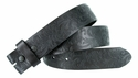 "BS036 Western Floral Engraved Tooling Full Grain Leather Belt Strap 1-1/2"" - Black"