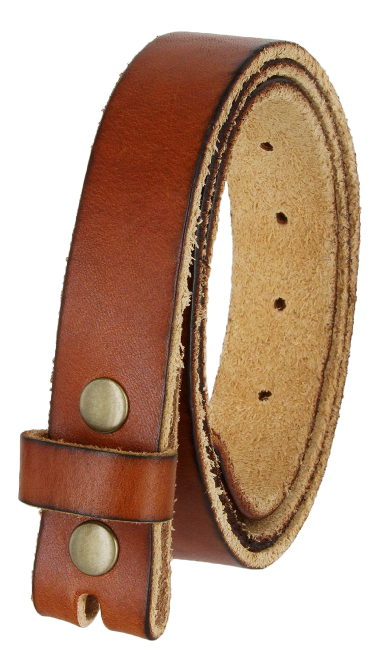 Bs100 Vintage Full Grain Leather Belt Strap 1 1 8 Quot Wide Tan