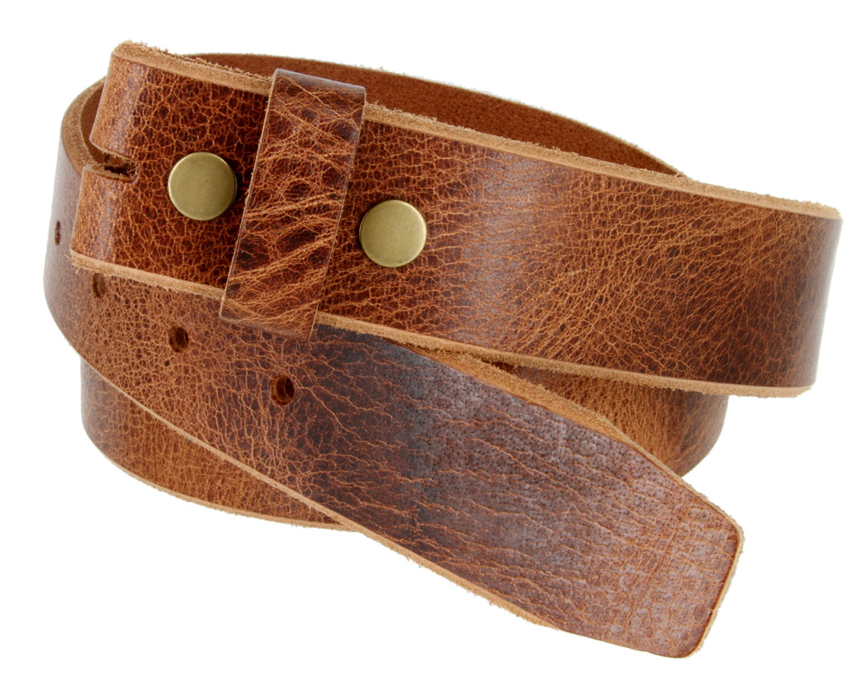 Bs304 Genuine Full Grain Vintage Leather Belt Strap 1 1 2