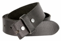 "BS40 Vintage Full Grain Leather Belt Strap 1 1/2"" Wide - Black"