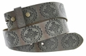 "BS70 Full Grain Leather Belt Strap 1 1/2"" Wide"