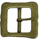 "D'Art Square 1 3/4"" Solid Brass Buckle"
