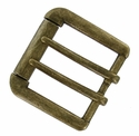 "FCB-16 Brass Roller Belt Buckle fit's 1-1/2"" (38mm) wide"