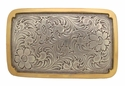 H-8134 ASAG Western Engraved Belt Buckle