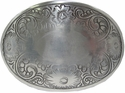 HA 0072-1 Victorian Scroll Western Belt Buckle
