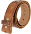 """TB105 BROWN Genuine Hand-Laced Leather Belt Strap 1-3/4"""" Wide"""