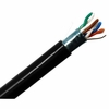 CAT 5E Ethernet Shielded Indoor/Outdoor UV Rated Cable 1000ft