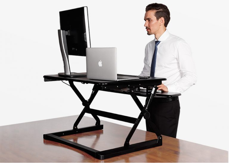 Flexispot 27 Quot Wide Stand Up Desk With Wider Keybaord Tray