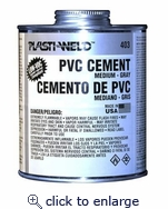 Med Body Cement Gray 1/4 PT
