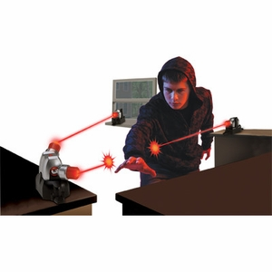 Click to Enlarge: Cubicle Guard - Lazer Tripwire