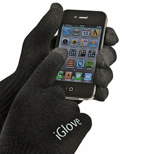 Click to Enlarge: iGlove Gadget Touchscreen Gloves