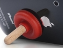 click to see more pictures of iPlunge Smartphone Stand