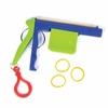 Rubber Band Shooting Keychain