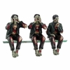 Zombies Speak, See, Hear No Evil Shelf Sitters