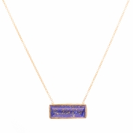 Lapis Rectangle Necklace