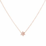 Mini Diamond Floret Necklace