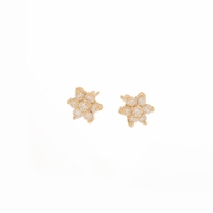 Mini Diamond Floret Studs