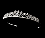 Abigail - Lovely rhinestone and pearl wedding tiara - Great price!! SALE!!