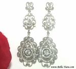 Ada- Vintage Inspired Swarovski crystal Chandelier Earrings - Special