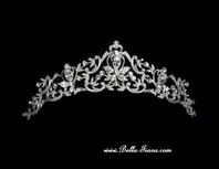 Adara - Beautiful vintage swirl wedding tiara - SPECIAL