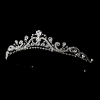Adelina - New Vintage dreams crystal wedding tiara - SALE