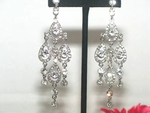 Adelle - STUNNING Swarovski crystal chandelier drop earrings - SPECIAL two left