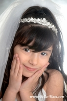 Adora- Italian Collection - Beautiful swarovski crystal communion headpiece - SPECIAL - out of stock