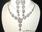Ailani - GORGEOUS Swarovski crystal wedding necklace set - SPECIAL - sold