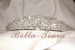Alessandra - Beautiful crystal rhinestone communion tiara headpiece - SPECIAL