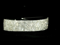 Alina - GORGEOUS DAZZING wide rhinestone headband - AMAZING PRICE!!