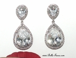 Alina - Royal Collection STUNNING elegant CZ earrings - SALE - few back in stock