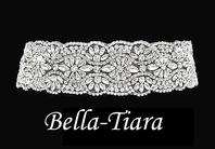 AMAZING!!! dazzling Swarovski crystal wedding belt - SALE