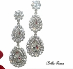 Anala - Beautiful rhinestone chandelier drop earrings - Special