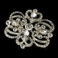 Anastasia - Vintage design majestic Bridal hair accessory - SPECIAL