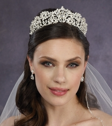 Angelia - Royal princess Swarovski crystal bridal tiara - SPECIAL!!