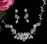 Angelina - Vine Pearl and Crystals
