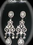 Anna - Royal collection - COUTURE  CZ chandelier earrings - SALE!!!  a few left