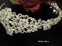 Annalisa - STUNING!!! Royal Collection crystal headpiece - SALE