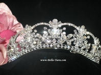 Antoniette -- Beautiful Swarovski Crystal Wedding Tiara  - SPECIAL