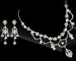 Ariel - Victorian Princess Bridal Necklace Set - SALE!