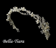 Arlisse - REMARKABLE Crystal and Pearl vine headband
