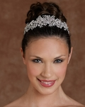 Astonishing bridal headband tiara - Edward Berger 8153 - SALE!!