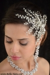 Athena - Royal Collection - Swarovski crystal wedding hair comb - sale