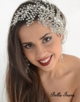 Athena - Royal Collection - GORGEUS Swarovski crystal wedding hair comb - sale